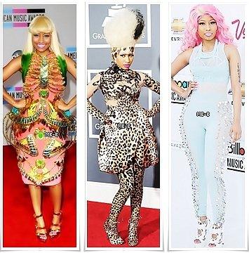 Artiste coup de coeur du moment ; Nicki Minaj !
