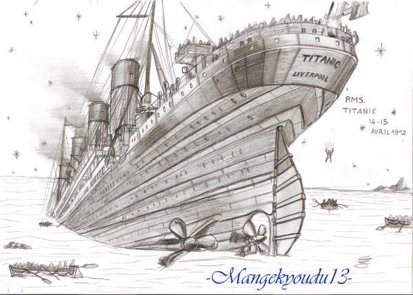 Titanic Mes Dessins Manga