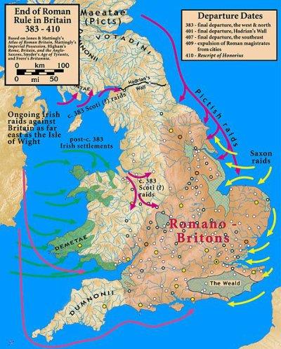 Une Bretagne, en dehors de Rome ?