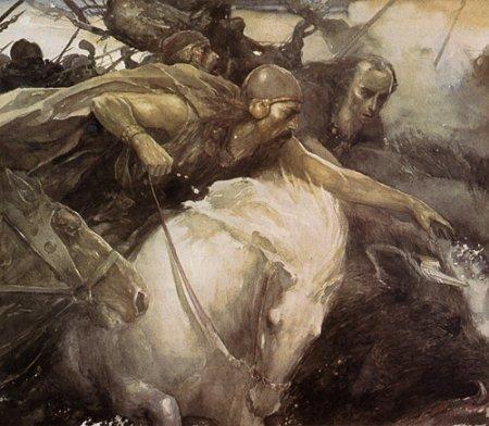 Arthur dans les traditions galloises