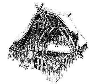 Les premiers établissements Saxons
