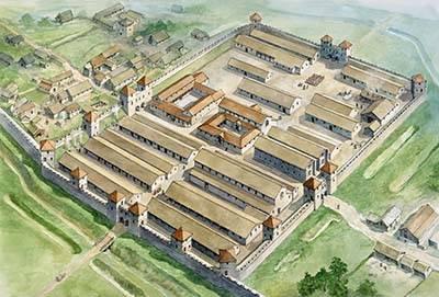 Le mur d'Hadrien, une défense toujours utilisée
