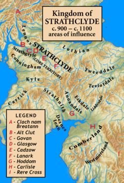 Coroticus : le Ceretic Guletic, roi d'Alt Clut