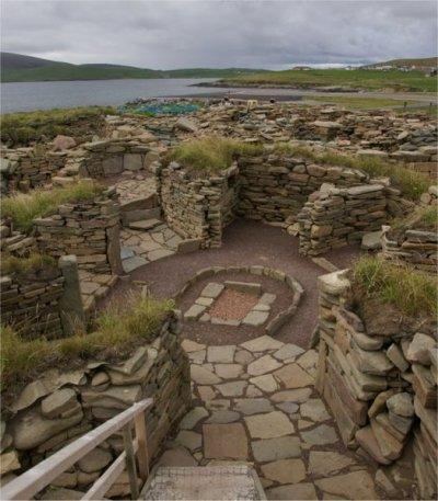 Les habitations dans l'Ecosse post-romaines