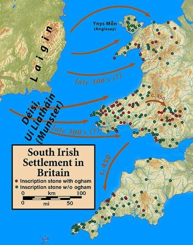 La présence irlandaise en Bretagne