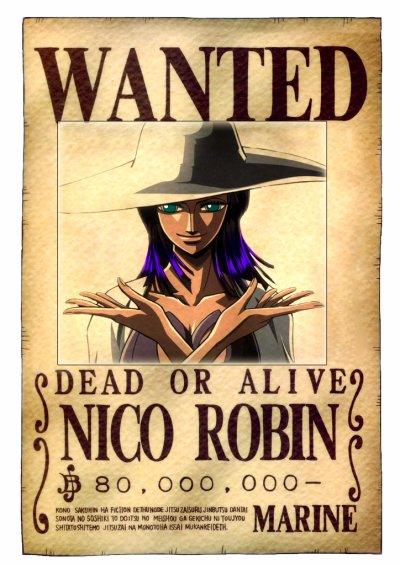 Nico Robin, le démon d'Ohara ?