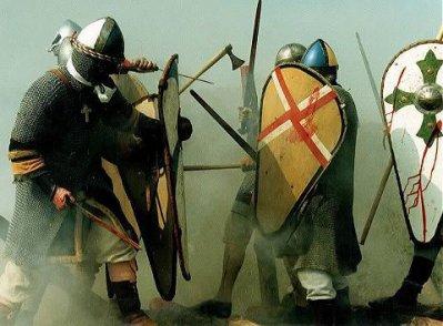 Le soulévement des mercenaires saxons