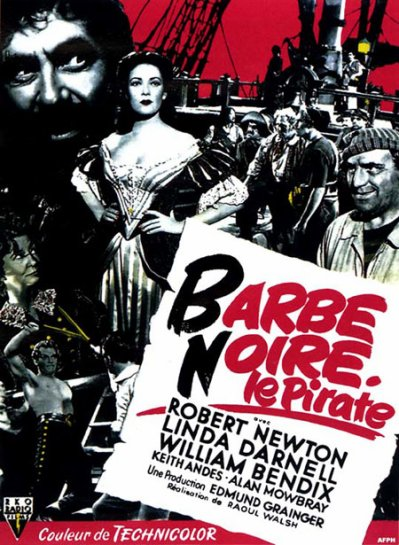 Barbe Noire, le pirate