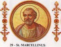 Marcellin, pape martyr ?