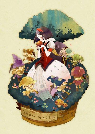 Blanche-Neige, un conte inspiré