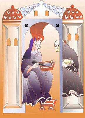 Hildegarde de Bingen, une femme d'esprit au Moyen Âge