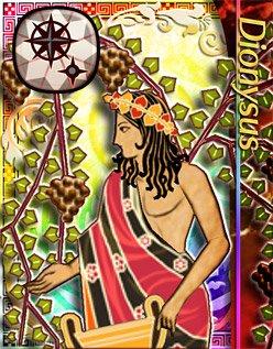 Dionysos, un dieu du vin sachant se battre