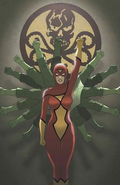 Spider Woman, une araignée à laquelle il ne faut pas se frotter