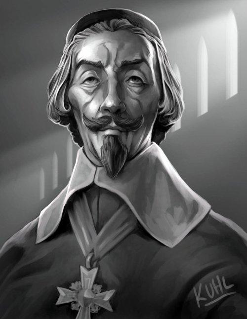 Le cardinal de Richelieu, un ministre d'État inspiré