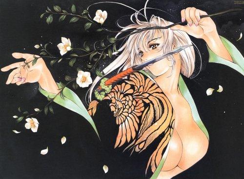 Maya Natsume, la beauté alliée à la force