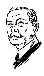 Sir Arthur Conan Doyle, un écrivain à la vie aventureuse