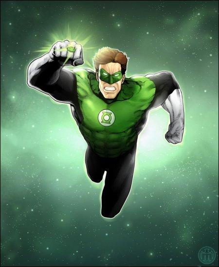 Hal Jordan, le Green Lantern le plus puisssant