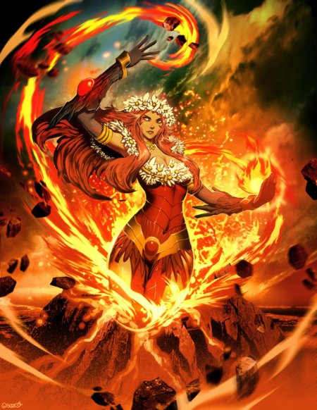 Pelé, la déesse dont les colères s'apaisent