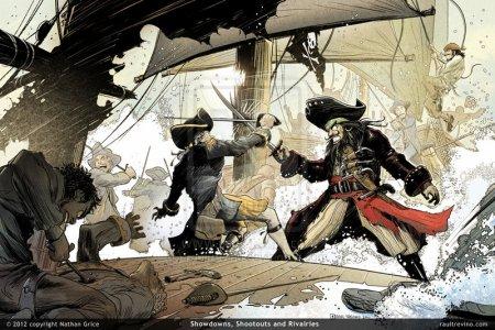 Barbe Noire, un pirate devenu légendaire