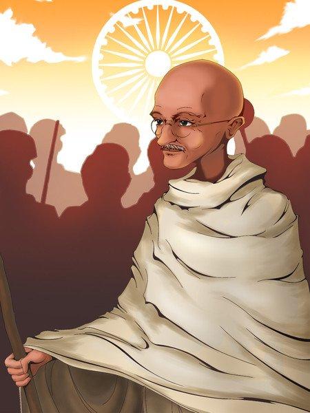 Mahatma Gandhi, la non violence libératrice