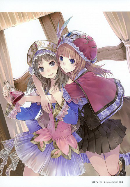Atelier Rorona and Totori Art Book