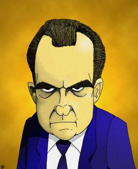 Richard Nixon, du triomphe à la ruine