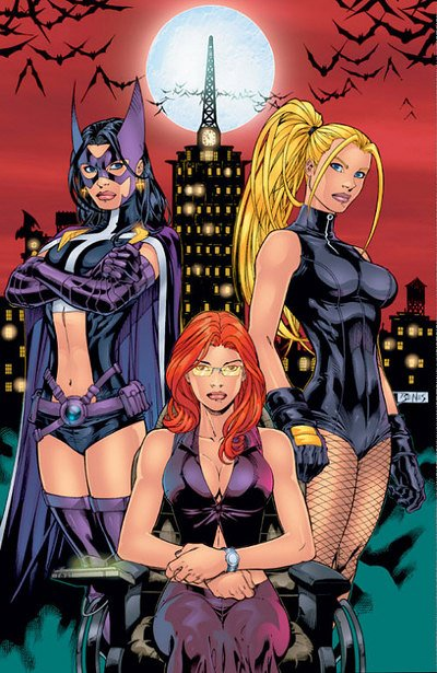 Huntress, le vigilante féminin