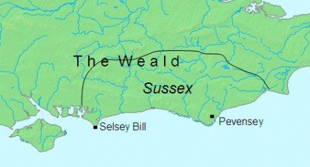 Les Saxons du Sud : à l'origine du royaume du Sussex ?