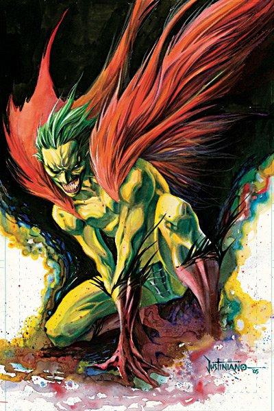 The Creeper, un super héros charismatique très instable