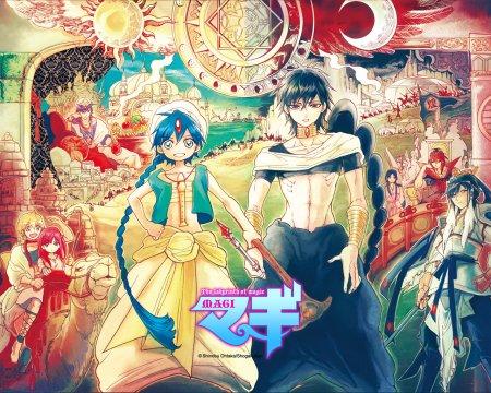 Magi, un  manga dans l'univers des mille et une nuits