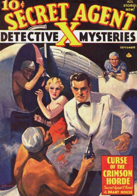 Secret Agent X : L'homme aux mille visages