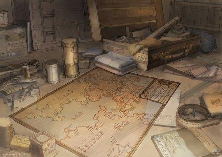 La carte, un bon outil géographique pour se guider