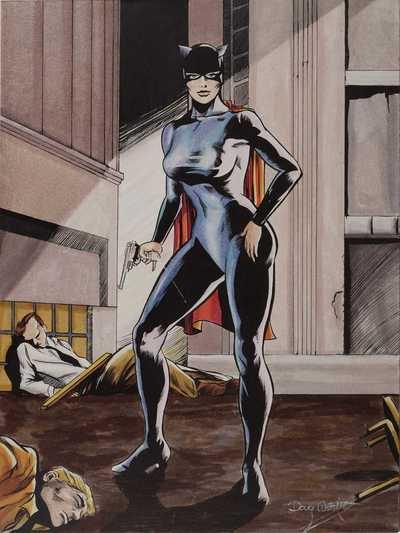 Miss Fury, une héroïne inspirée