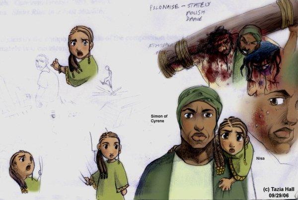 Simon de Cyrène, un homme de passage ?