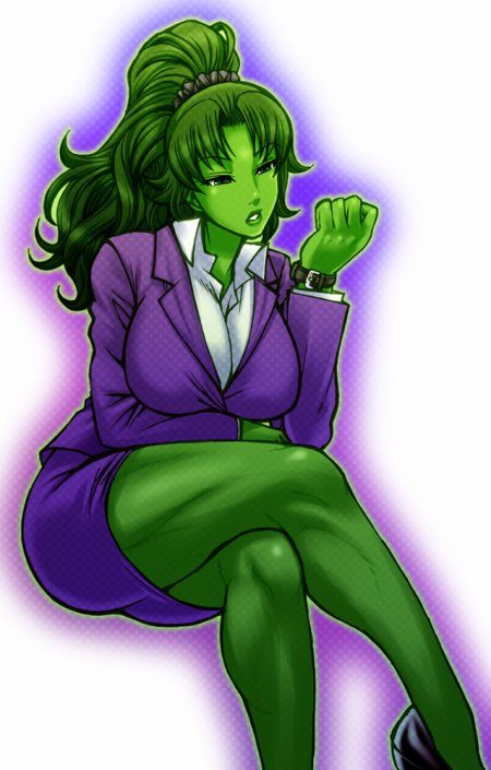 She-Hulk, la force et la beauté liées à l'intelligence