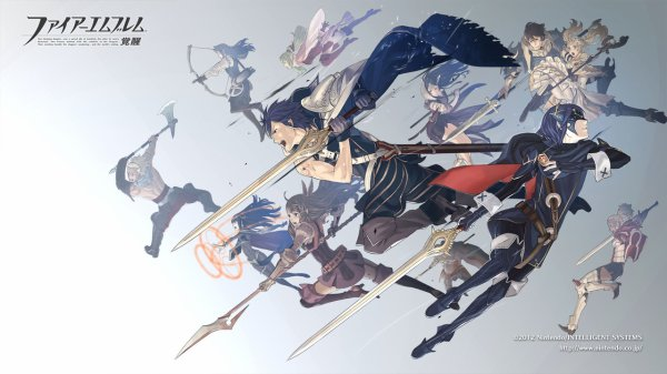 ''Fire Emblem Awakening Modelsheets - Knight of Iris''