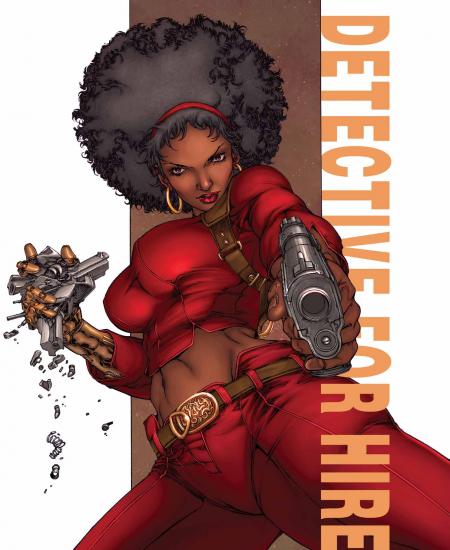 """Mercedes """"Misty"""" Knight, une femme qui a su faire sa place dans l'univers des super héros"""
