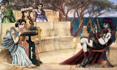 Sappho, une poètesse à l'inspiration diverse