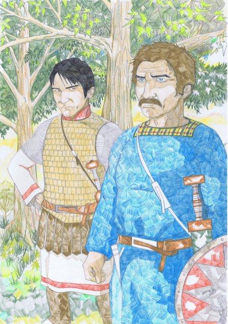 La contre offensive bretonne au milieu du Ve siècle