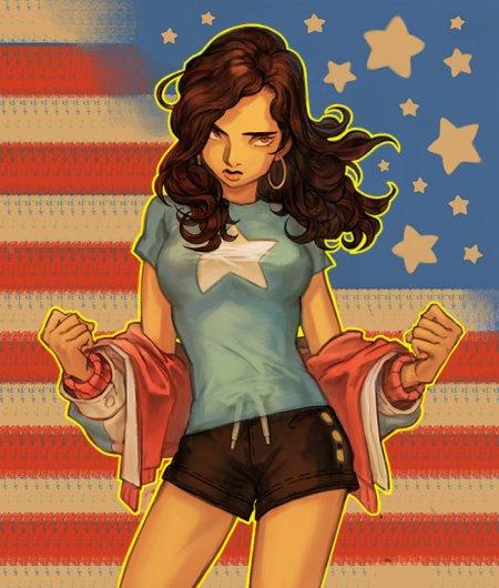 Miss America, une super héroïne patriote évoluant au gré du temps