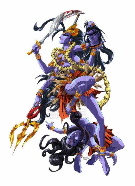 Kali, déesse de la destruction et de l'ordre