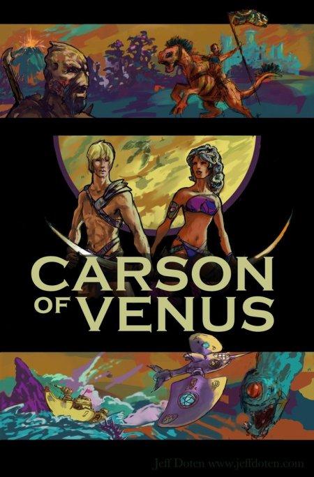 Carson Napier, un héros humain sur Vénus