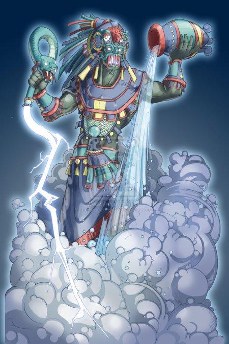 Tlaloc, un dieu terrible et bon à la fois