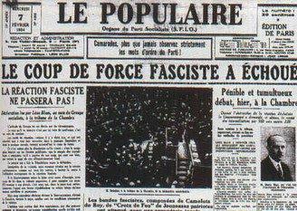 La journée du 6 février 1934