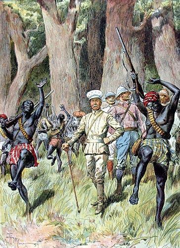 Ça s'est passé un 24 décembre : Le traité d'amitié entre Henry Morton Stanley et Ngaliema Insi