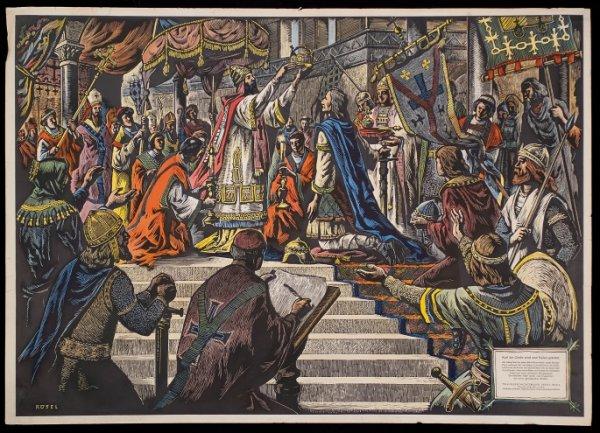 Ça s'est passé un 25 décembre : Le couronnement de Charlemagne comme empereur