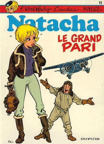 Natacha, une hôtesse de l'air aux aventures rocambolesques