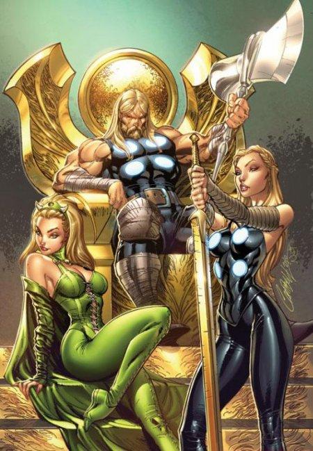 Valkyrie, la maîtresse de Valkyrior aux activités héroïques terrestres