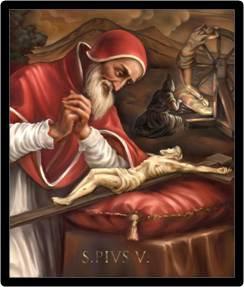 Pie V un pape réformateur intransigeant avec ses ennemis