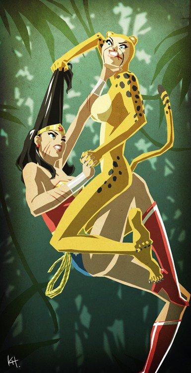 Cheetah, une super vilaine aux capacités félines
